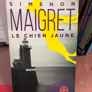 Le chien jaune french book